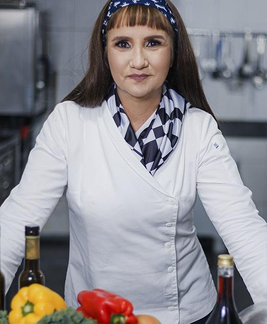 Thelmma Marta - Cheff no Restaurante Touché do Mara Turismo Hotel